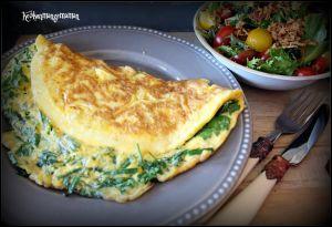 Recette Omelette aux herbes fraiches  pour CMUM