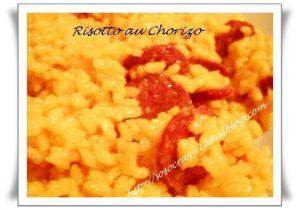 Recette Risotto au Chorizo