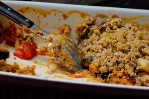 Recette Crumble d'aubergines / Eggplant Crumble