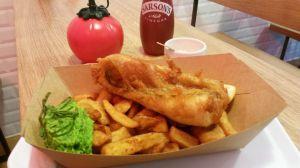 Recette The sunken Chip, le fish & chips à Paris