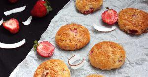 Recette Scones à la fraise
