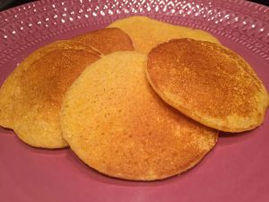 Recette Pancake de polenta