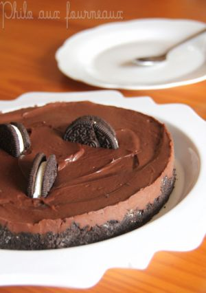 Recette Cheesecake sans cuisson au Nutella, chocolat & Oreo (sans oeufs ni beurre)