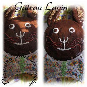 Recette Gâteau lapin