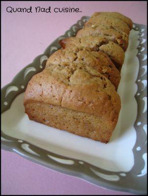 Recette Mini-cakes chocolat blanc, banane et spéculoos
