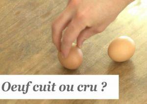 Recette Suis-je cuit ou cru