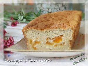 Recette Cake magique à l'abricot sans gluten