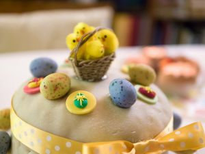 """Recette Du cake traditionnel de Pâques américain le """" simnel """" cake"""