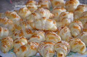 Recette Mini croissant jambon fromage béchamel