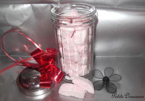 Recette Idées cadeaux # 2 Chamallow maison (Litchi & Pistache)