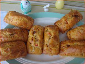 Recette Cakes salés individuels au chorizo