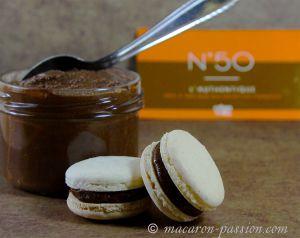 Recette Macaron pâte à tartiner N50 et poire