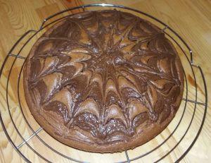 Recette Gâteau au chocolat et à la pâte à tartiner chocolat-noisette