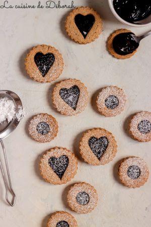 Recette Biscuits fourrés au chocolat