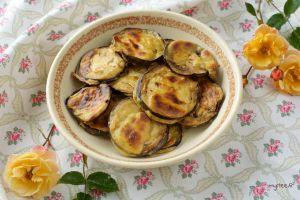 Recette Beignets d'aubergine au four (vegan)