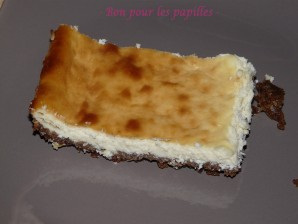 Recette Premier cheesecake