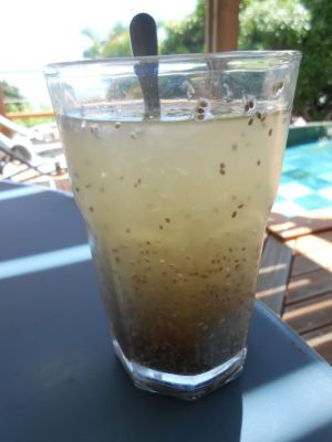 Recette Chia fresca : boisson fraîche et rafraichissante au citron et aux graines de chia