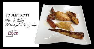 Recette Recette de poulet rôti de Christophe Grosjean