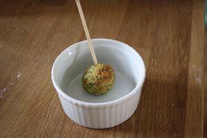 Recette Cuisine des restes: boulettes de poulet et herbes fines