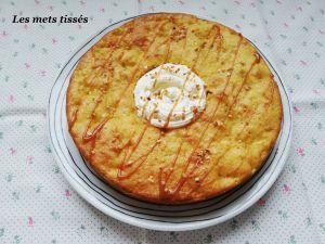 Recette Moelleux pommes poires caramel