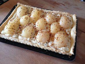 Recette Tarte poire fève tonka