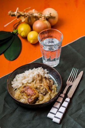Recette Poulet yassa (recette Cookeo)