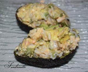 Recette Avocat créole