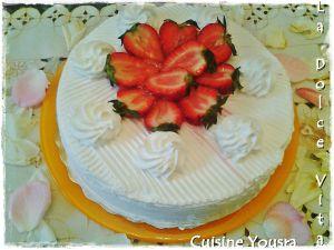 Recette Gâteau à la fraise
