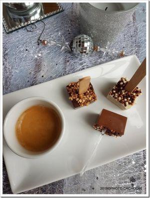 Recette Hot chocolat, cuillères à chocolat chaud