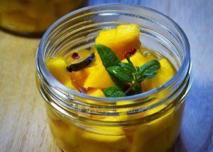 Recette Conserve de mangue à la verveine citronnelle