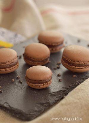 Recette Macarons au chocolat et fève tonka