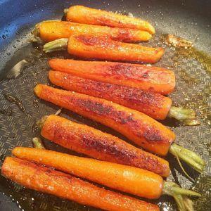Recette Carottes nouvelles rôties au beurre