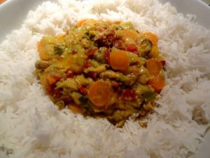 Recette Curry aux fruits de mer