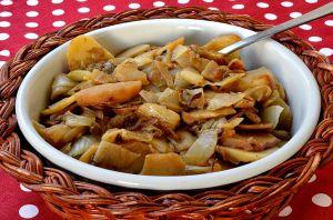 Recette Poêlée d'endives et de pommes de terre