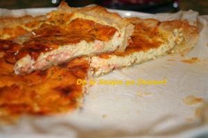 Recette Quiche au saumon fumé et aneth
