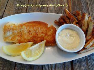 Recette Fish and chips santé