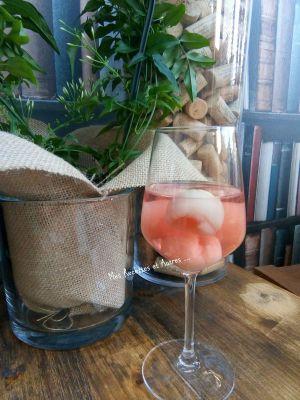 Recette Cocktail Rosé Soho Litchi