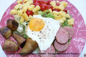 Recette Assiette complète Franc-Comtoise
