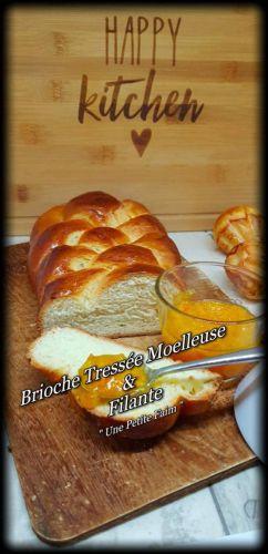 Recette Brioche Tressée Moelleuse & Filante
