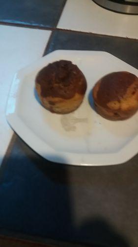 Recette Muffins marbrés