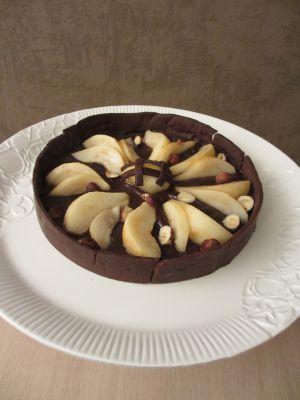 Recette Tarte poires chocolat