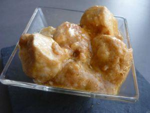 Recette Tour en cuisine 206: Poulet au beurre de cacahuètes