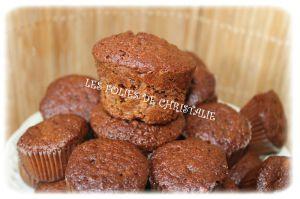 Recette Mini muffins pralinoise