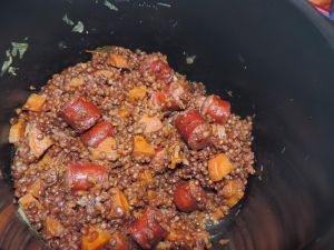 Recette Lentilles saucisses (Cookeo)
