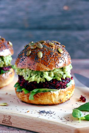Recette Burger végétarien à la betterave