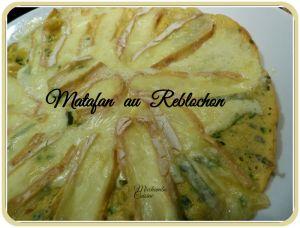 Recette Matafan au reblochon