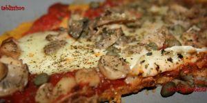 Recette Pizza de polenta