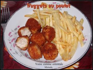 Recette Nuggets au poulet facile à faire