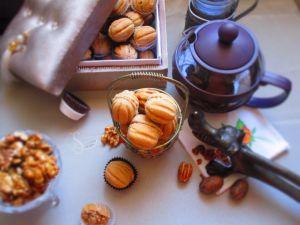Recette Gâteaux el djouza gâteaux sec en forme de noix