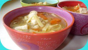 Recette Bouillon asiatique au poulet